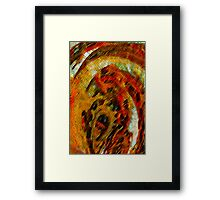 Primal Scream Framed Print