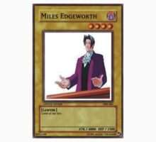 Miles Edgeworth Card by TheSilentWombat