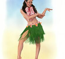 Hula by KC Art