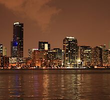 Miami - Red, White, and Blue by Mike Miller