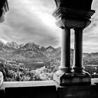 View from Neuschwanstein by David Preston