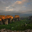 Morning Light, Meteora by Peter Hammer