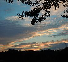 East TN August Sunset by Robert Regenold