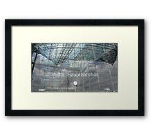 BERLIN - PORTAL -MAINSTATION -  Framed Print
