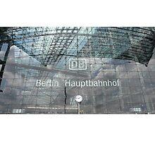 BERLIN - PORTAL -MAINSTATION -  Photographic Print