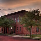 Sunset in DowntownToledo Ohio by Mariano57
