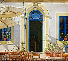 greek cafe by Teresa Pople