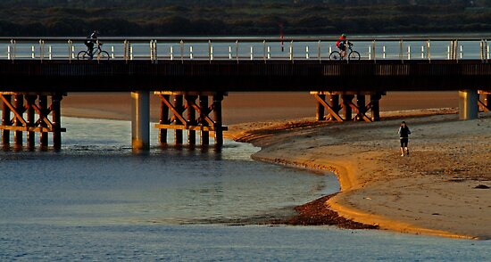 The New Barwon Heads Bridge by Joe Mortelliti