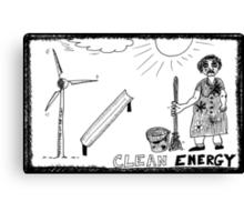 Clean Energy Canvas Print