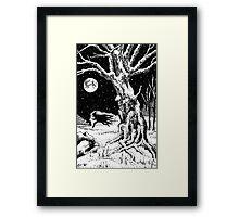 Jack Frost Framed Print