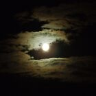 Full Moon At Night by Chris Goodwin