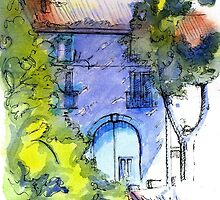Maison Vigneronne by reddogcards