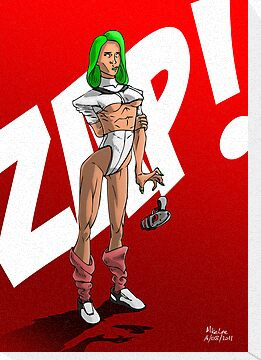 Zapper Girl by Michael Lee