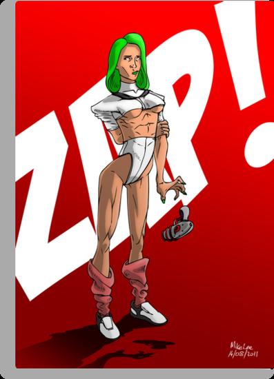 Zapper Girl by Michael Lee