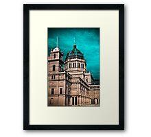 royal exhibition building Framed Print