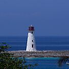 Lighthouse, Nassau Harbour by Jeannie  Mazur