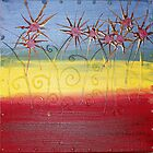 REDREAMING SOLAR FLARE by WENDY BANDURSKI-MILLER