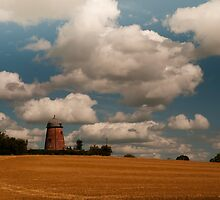 Croxton Windmill by David J Knight