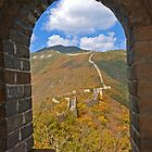 The Great Wall Series - at Mutianyu #6 by © Hany G. Jadaa © Prince John Photography