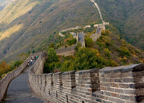 The Great Wall Series - at Mutianyu #7 by © Hany G. Jadaa © Prince John Photography