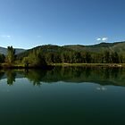 Cataldo Mission Lake by mpalcic