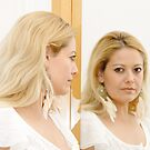 Woman in Mirror by Daidalos