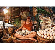 An Eggy Affair Photographic Print