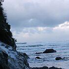 Snow and sea by beachbumma