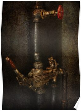 Steampunk - Plumbing - Number 4 - Universal  by Mike  Savad