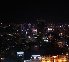Saigon by night by Joe Willmot