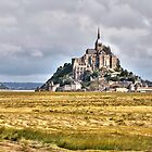 The Country Side of Mont Saint Michel  by paolo1955