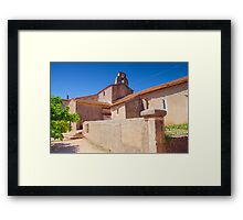 This Town ain't Big Enough for the Both of Us Framed Print