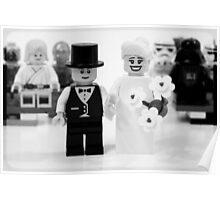 Lego Wedding Poster