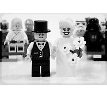 Lego Wedding Photographic Print
