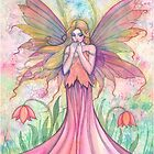 &quot;Wildflower&quot; Fairy Art by Molly Harrison by Molly  Harrison