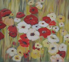 Field of Flowers by Phyllis Frameli