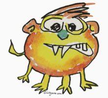 Funny Cartoon Monstar 021 by Lillyarts