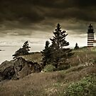 West Quoddy Lighthouse by Alana Ranney