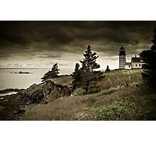 West Quoddy Lighthouse Photographic Print