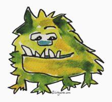 Funny Cartoon Monstar 026 by Lillyarts
