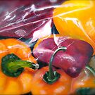 In The Bag...Peppers by  Janis Zroback