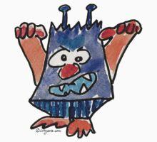 Funny Cartoon Monstar 032 by Lillyarts
