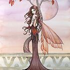 &quot;Autumn&quot; Fairy Art by Molly Harrison by Molly  Harrison