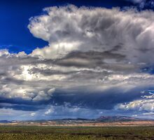 Storm over the Badlands by njordphoto