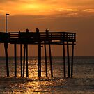 Early Morning Fishing by Kent Nickell