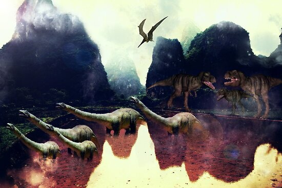 Jurassic by Vanessa Barklay