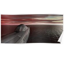 Yhevhe Stealth Submarine (II of II) Poster
