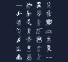 A - Z of 8-bit video games by darkcloud
