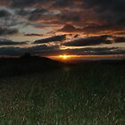 Sunset from Hartshead Pike by Michael Townsend
