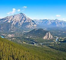 Banff and The Fairmont by Elizabeth Faulkner LRPS